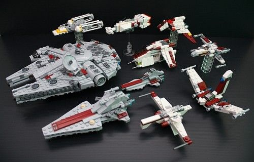 lego star wars instructions for mini sets