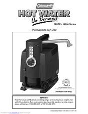 coleman stove instruction manual