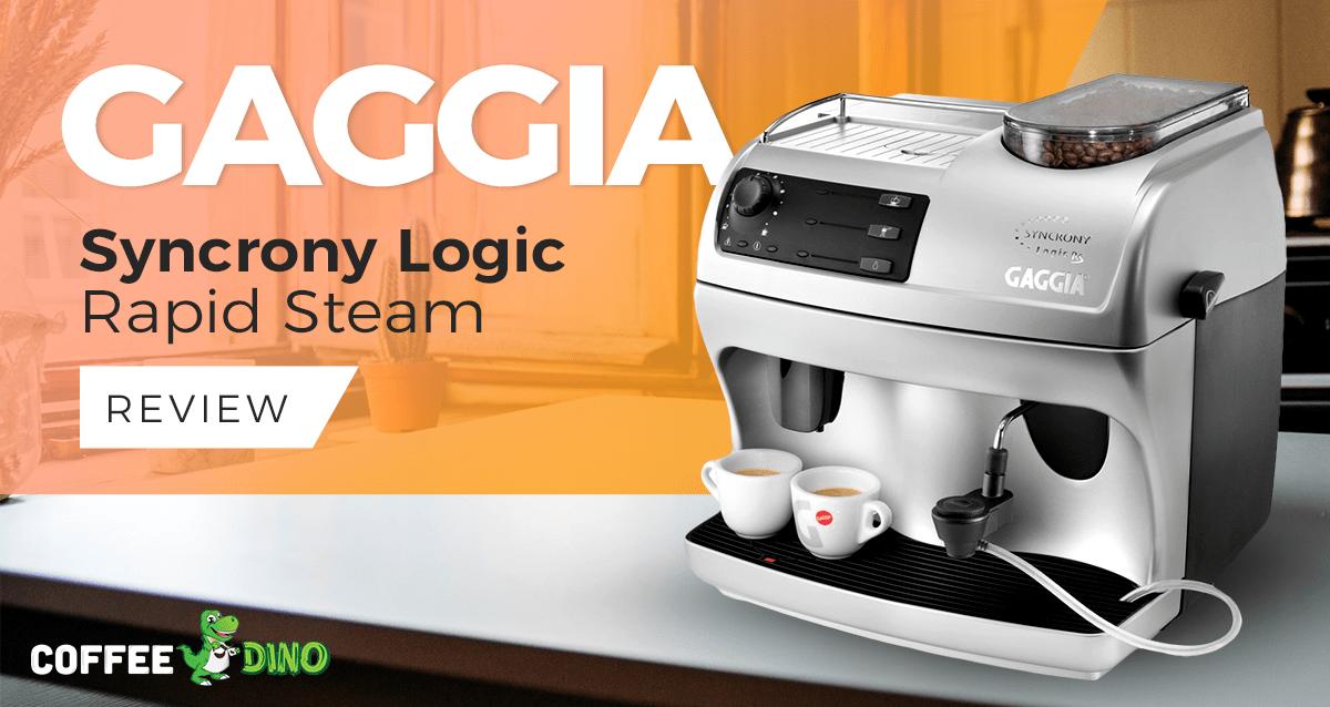 Gaggia syncrony logic manual pdf