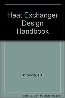 Heat exchanger design handbook pdf