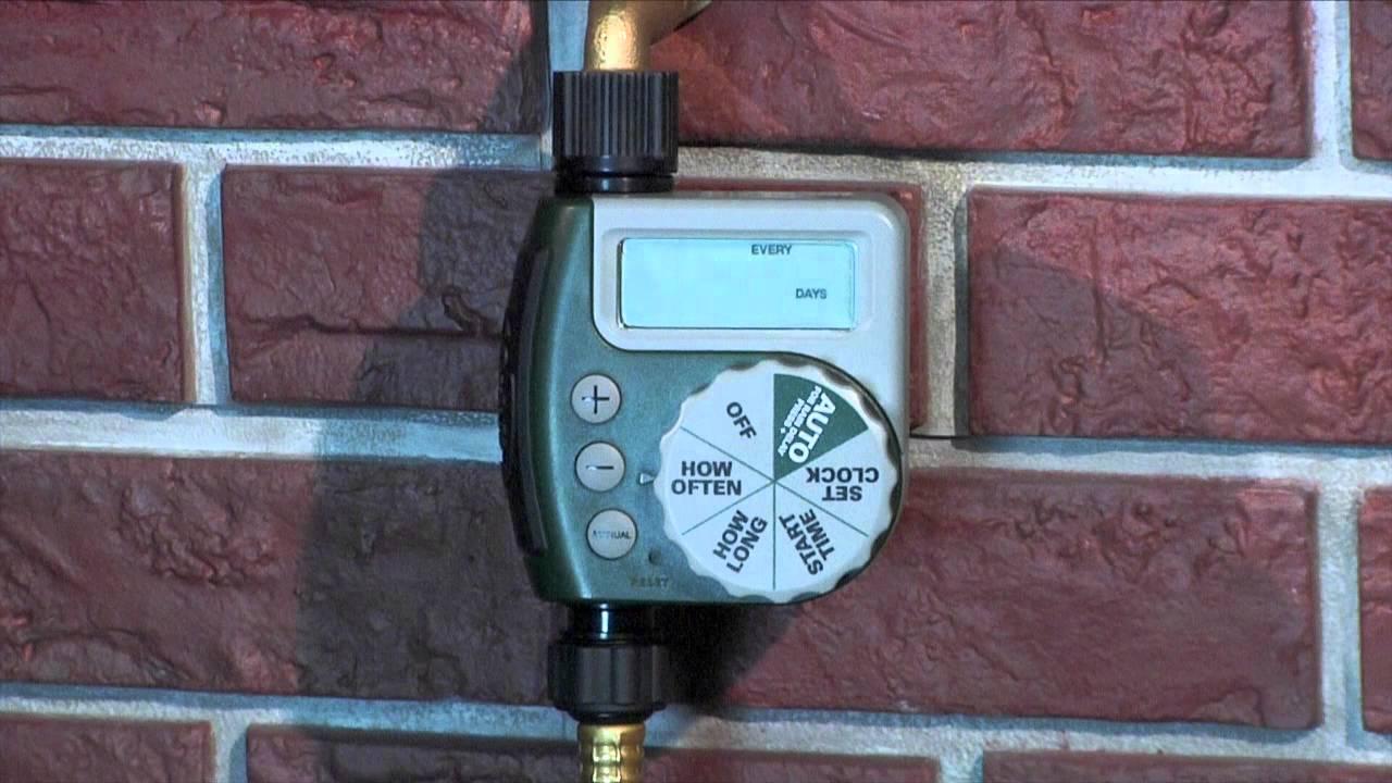 Orbit 1 outlet hose faucet timer instructions