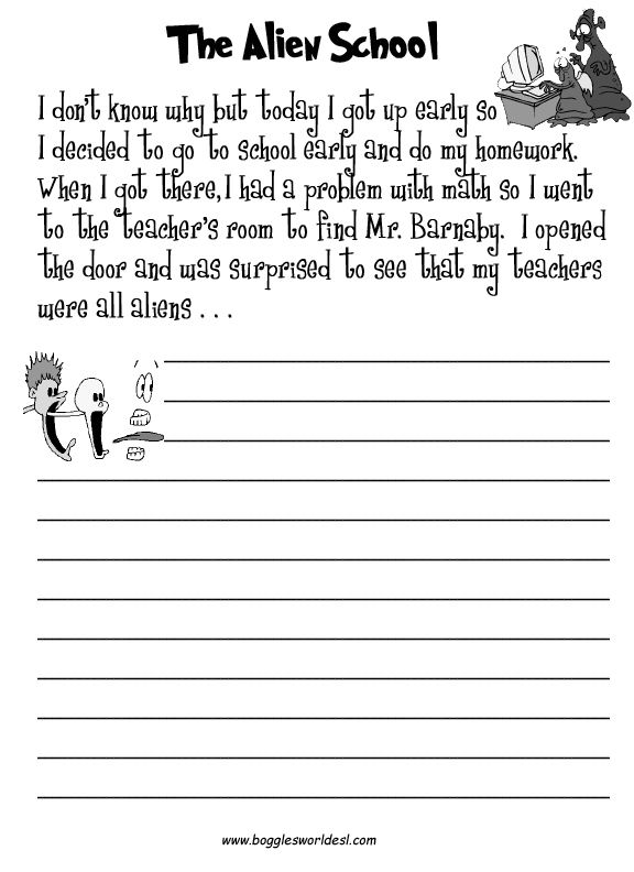 Creative writing worksheets for grade 3 pdf