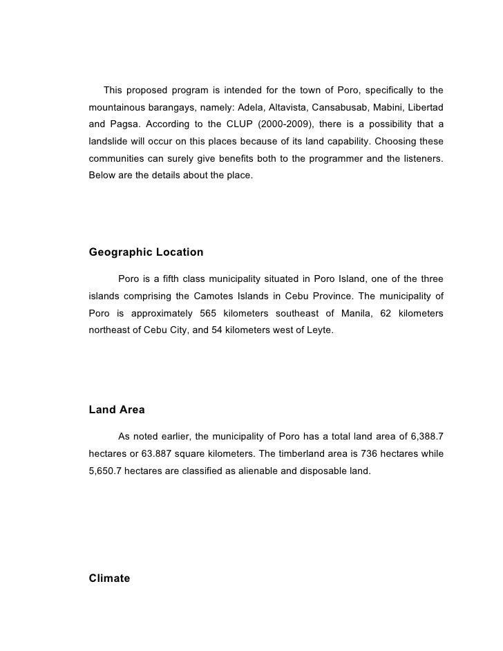 Community radio station business plan pdf