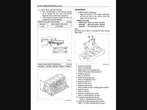 Isuzu dmax 2011 4jj1 engine service manual pdf