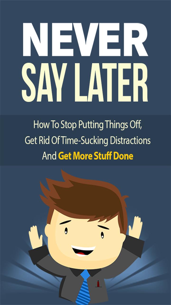 Reddit how to get rid of procrastination