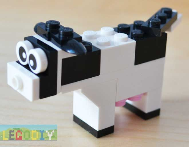 lego classic 10692 cow instructions