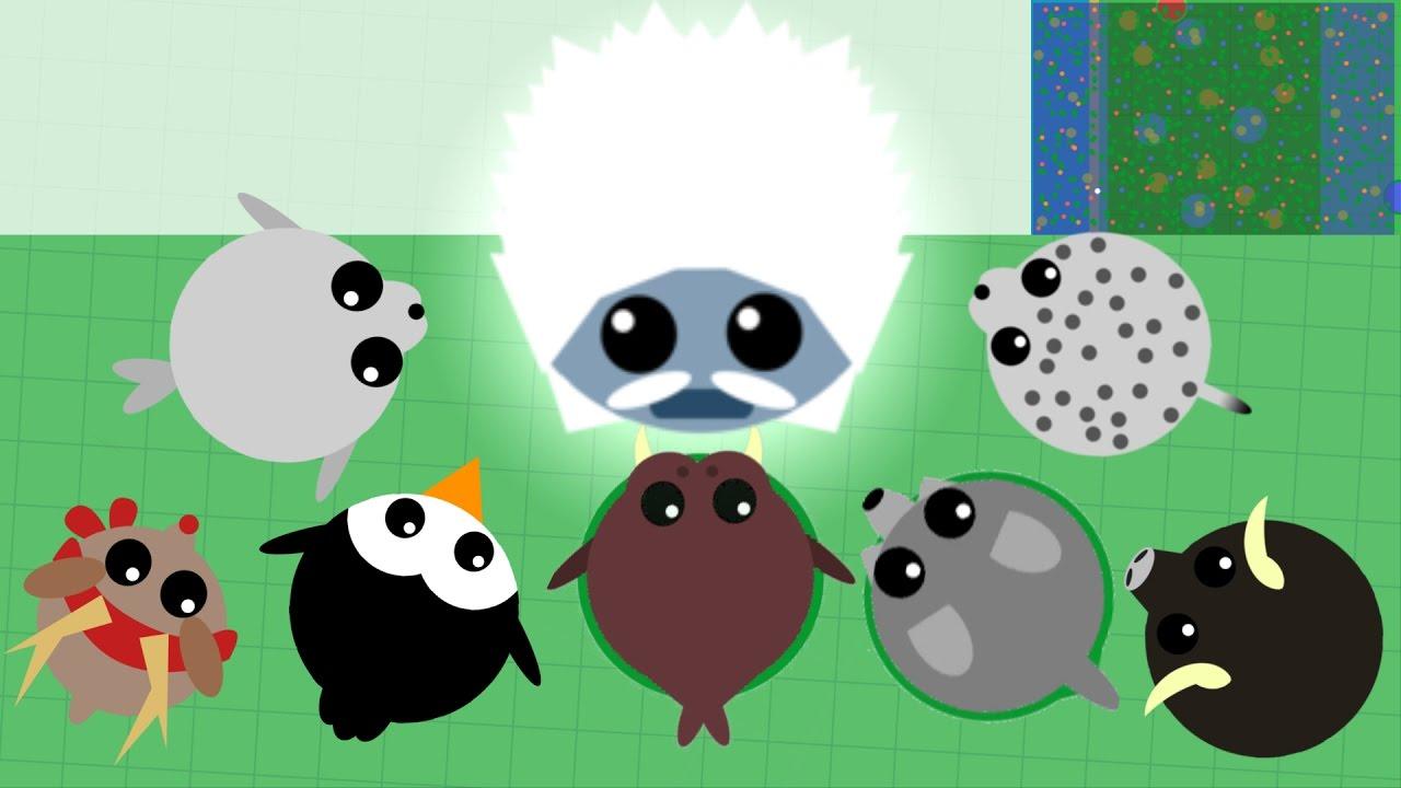 Mope.io how to get arctic animals