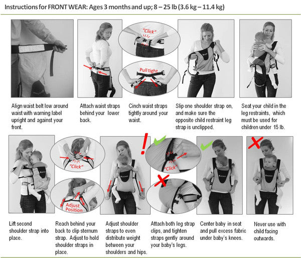 maclaren baby carrier instruction manual