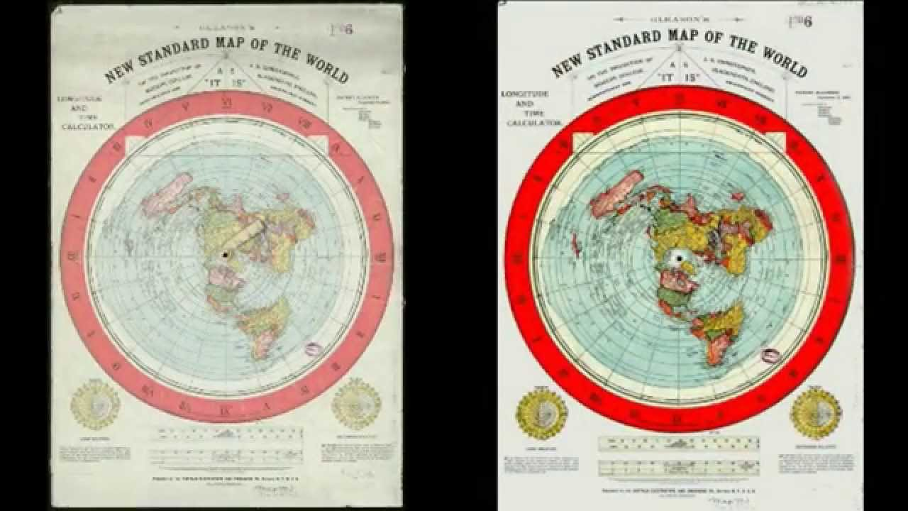 Pdf flat earth map by alex gleason