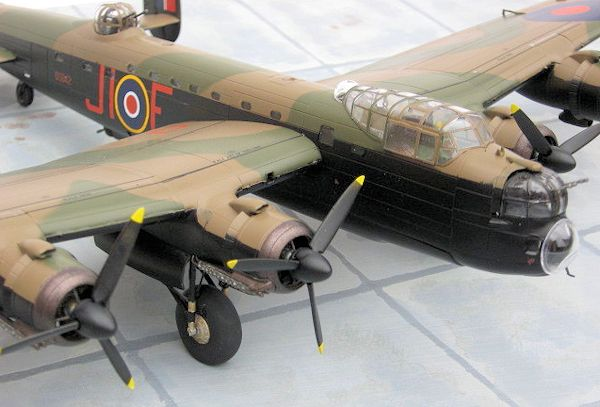 airfix lancaster bomber instructions