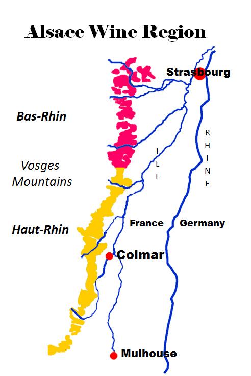 Alsace wine route map pdf