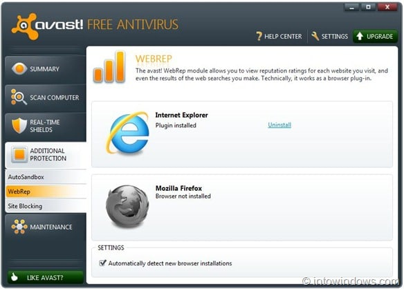 Avast how to allow blocked download