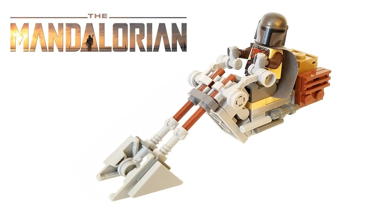 Lego mandalorian speeder instructions