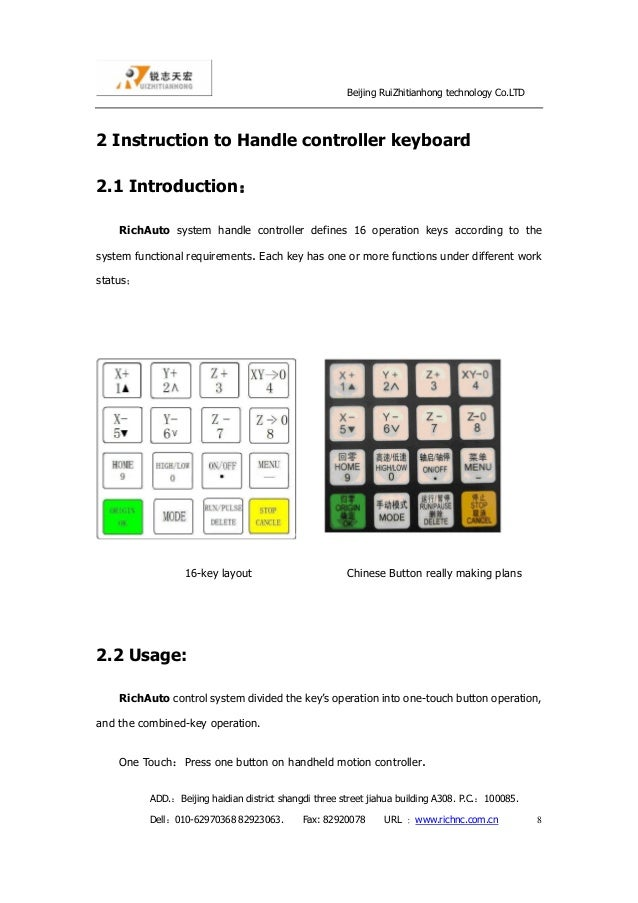 Richauto dsp controller manual pdf
