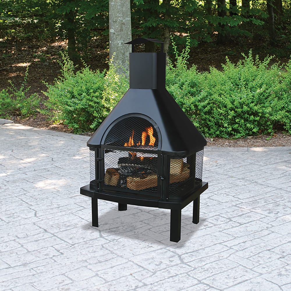 pleasant hearth wood burningoutdoor fireplace owners manual