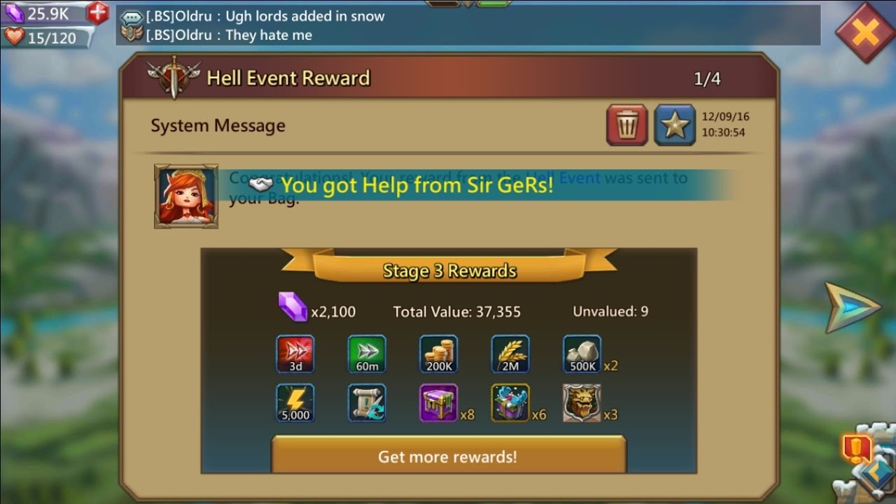 Lords mobile how to get linen