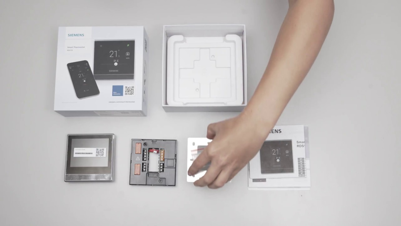 siemens heating controls instructions