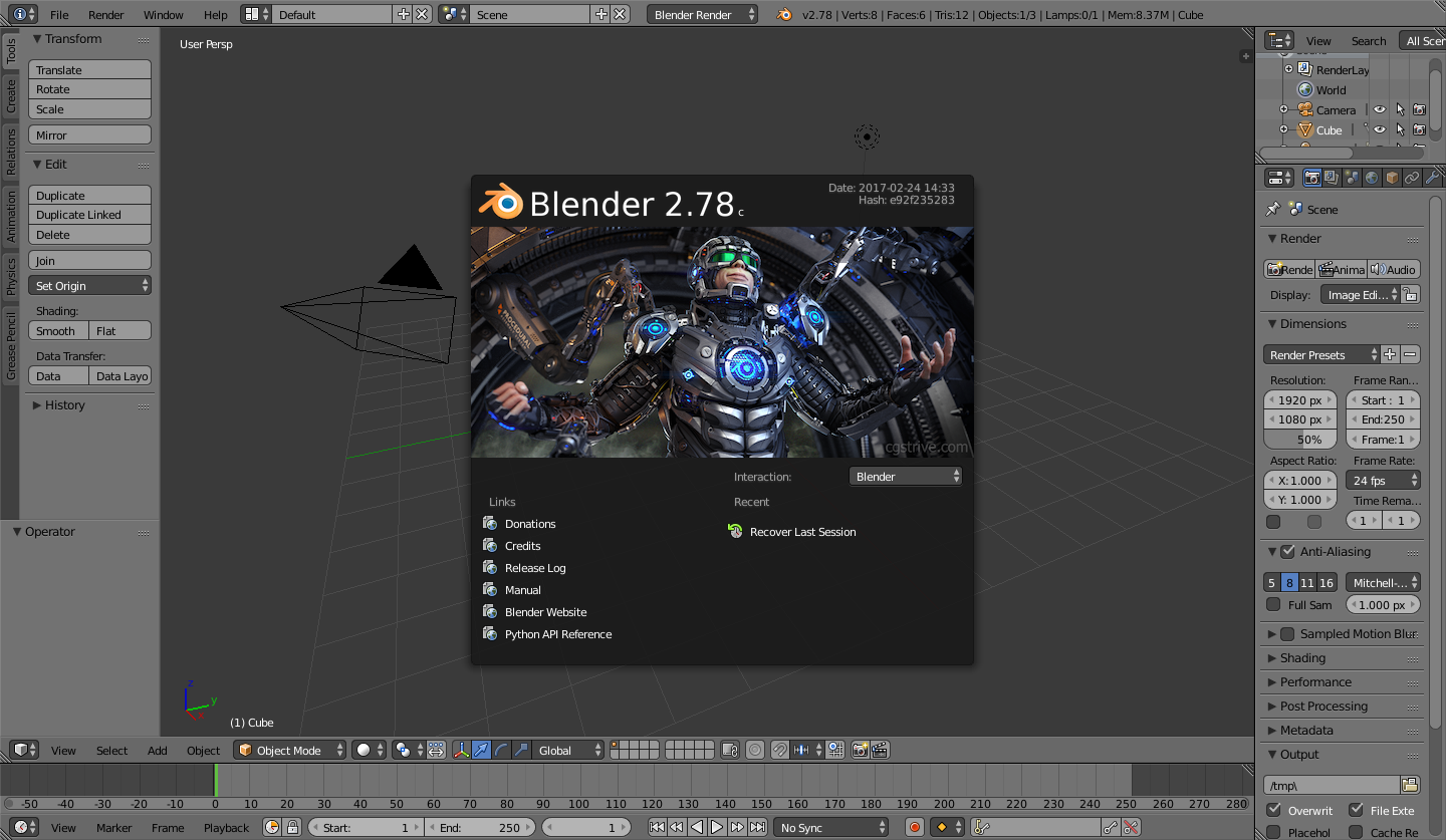 blender 2.78 manual pdf download