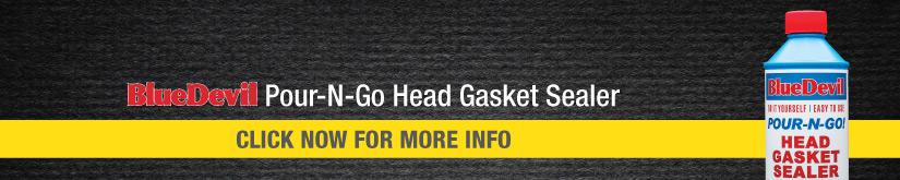 bluedevil pour-n-go head gasket sealer instructions