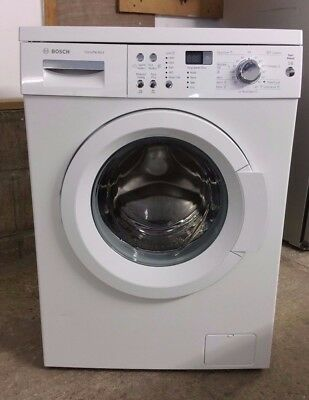 bosch exxcel 7 varioperfect washing machine manual