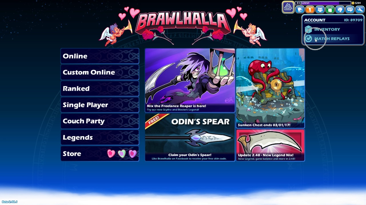Brawl halla how to download the replays