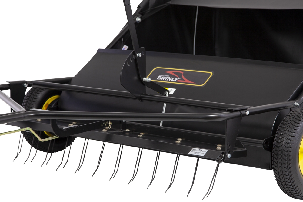 brinly hardy lawn sweeper manual