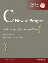 C   how to program 9th edition pdf