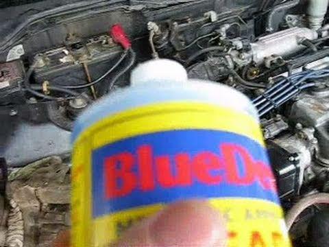 Blue devil radiator and block sealer instructions