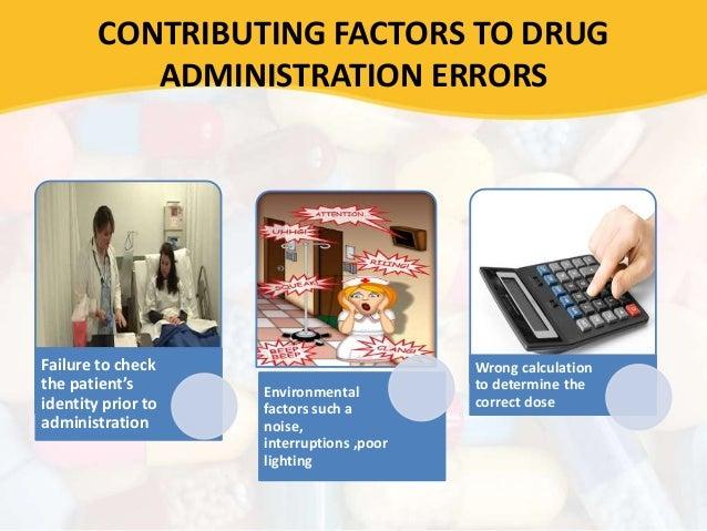 Pdl guidelines for dispensing errors