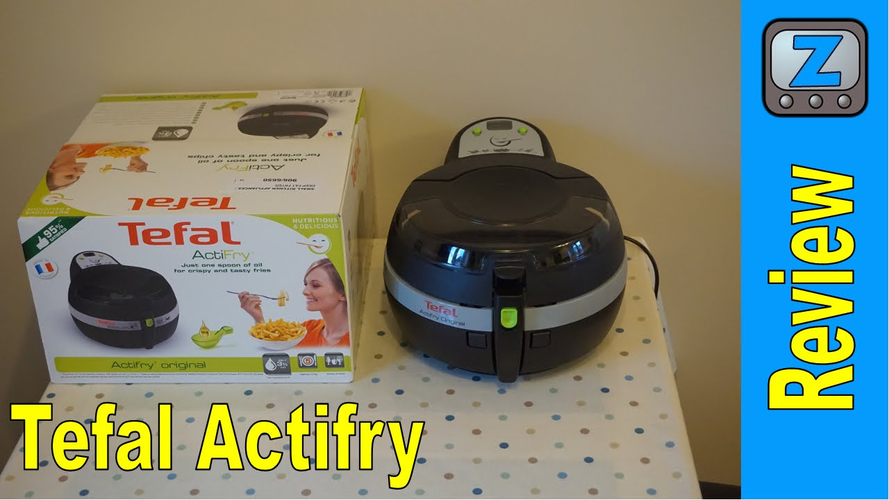 tefal actifry instructions for chips