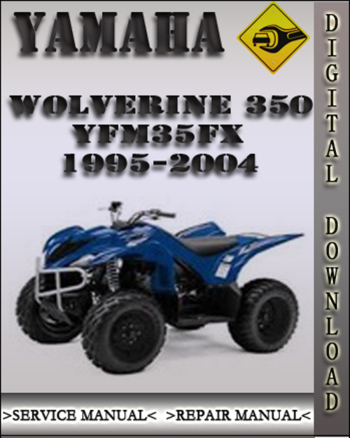 1996 yamaha wolverine 350 4x4 repair manual