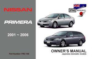 Nissan elgrand 2004 manual english