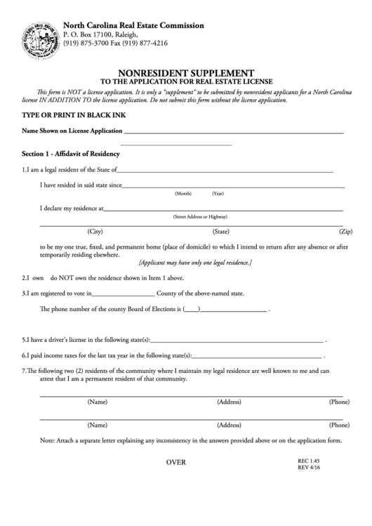 California real estate license application form