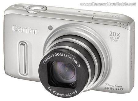 Canon powershot sx240 hs manual