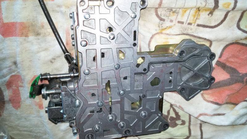 cheetah manual valve body 727