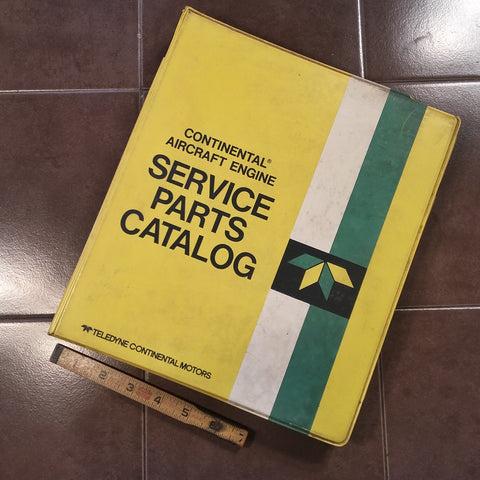continental c 85 parts manual