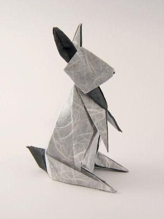 3d origami rabbit instructions