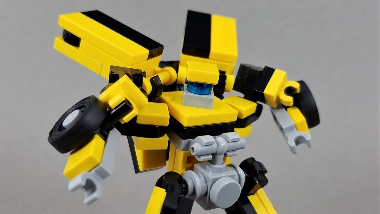 lego bumblebee transformer instructions