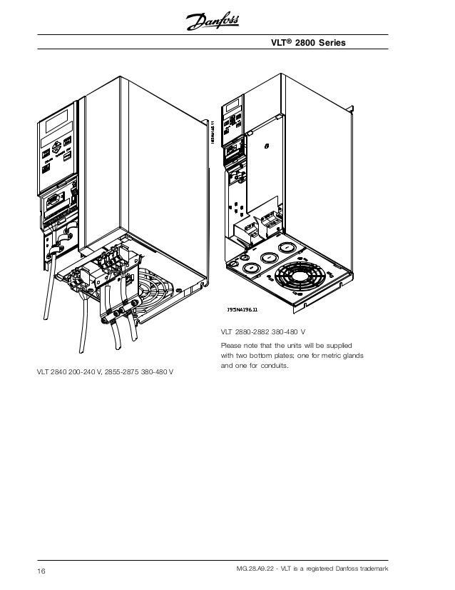 danfoss vfd vlt 2800 manual