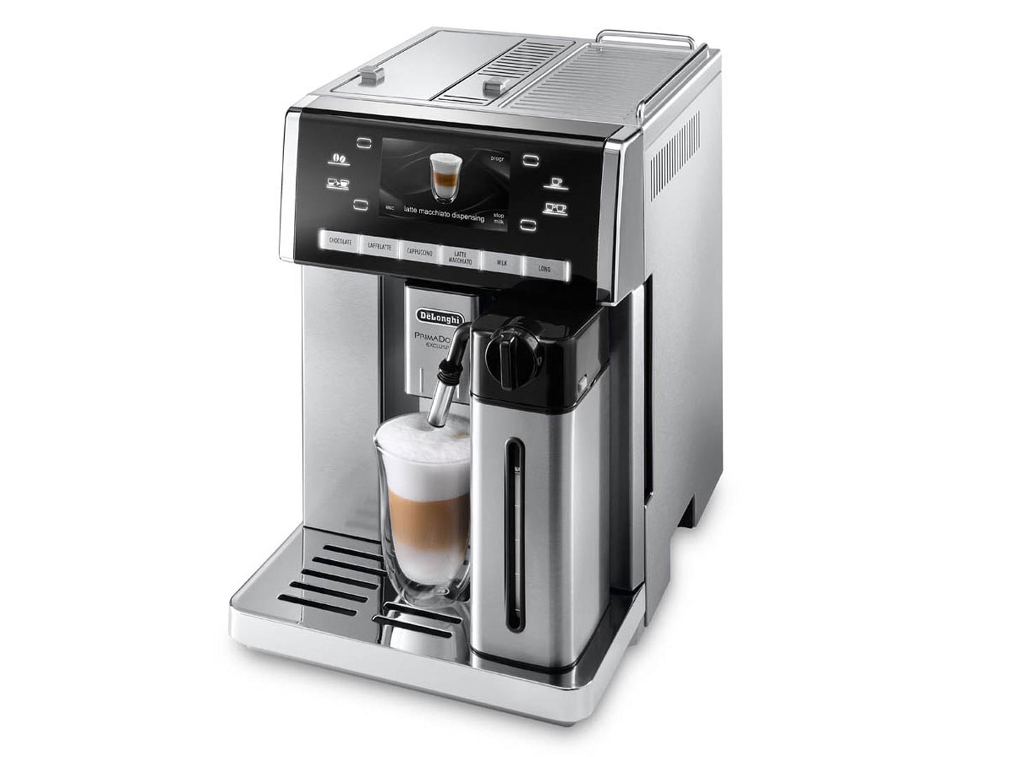 Delonghi prima donna coffee machine manual