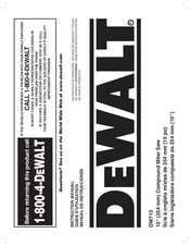 dewalt dw713-xe instructions