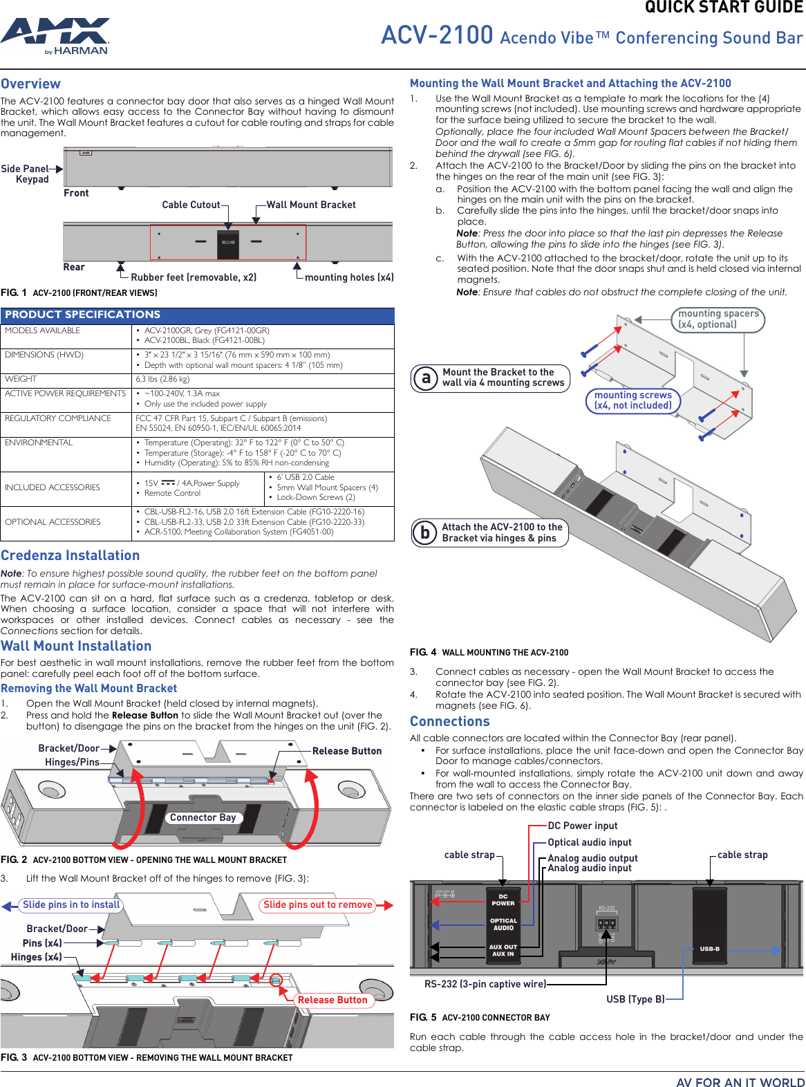 Amx nmx-enc-n2122 user guide