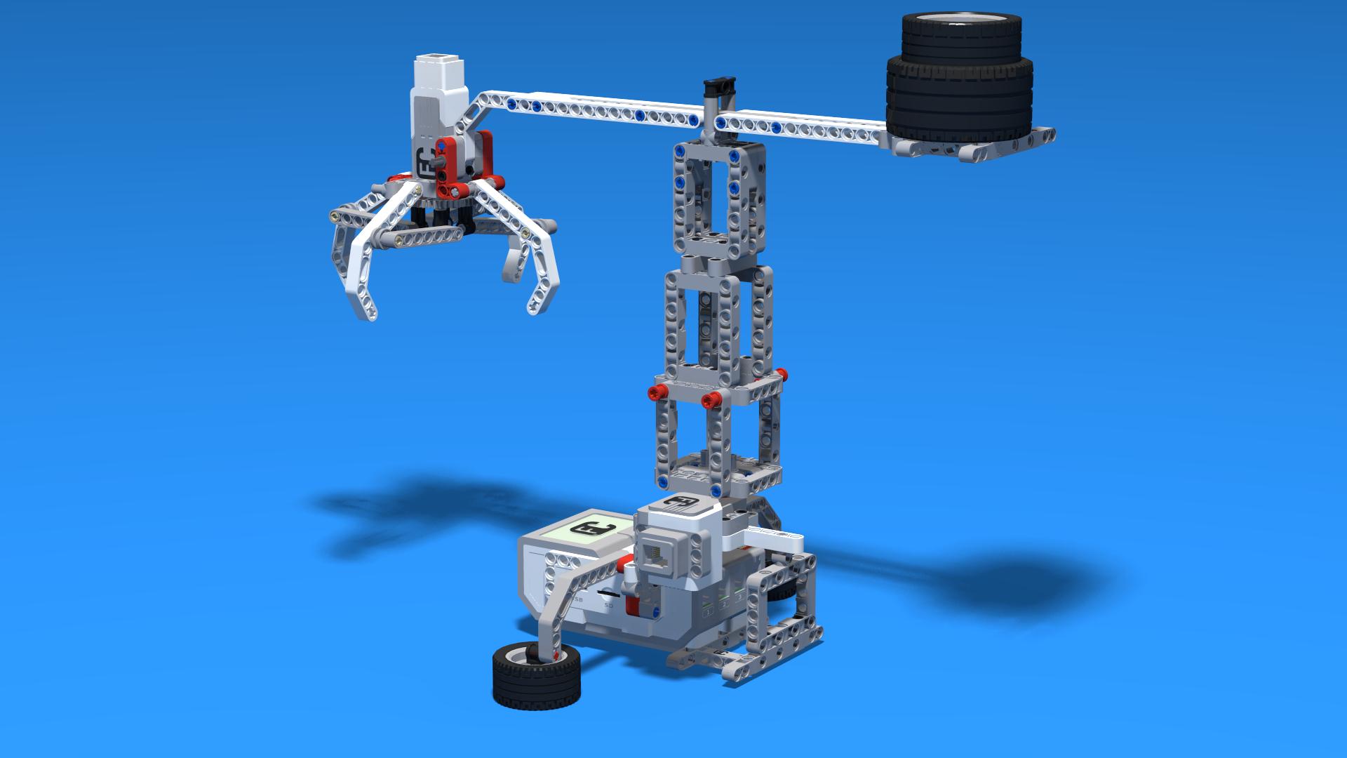 lego mindstorms nxt 2.0 crane instructions
