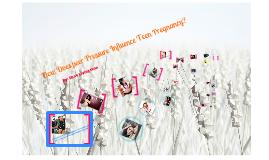 Peer pressure and teenage pregnancy pdf