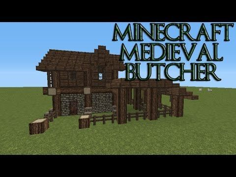 Minecraft how to build a village butcher shop