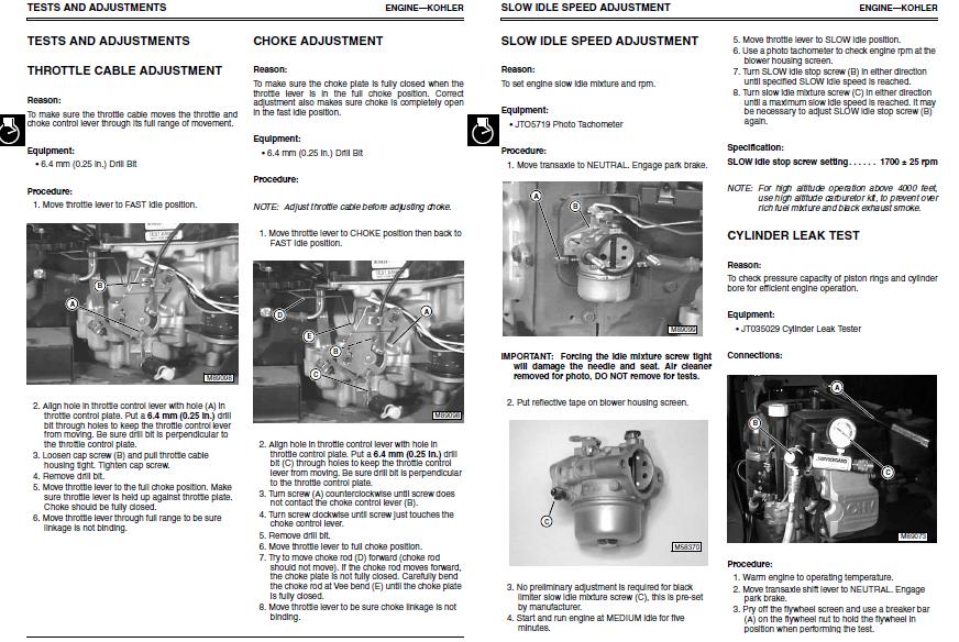 John deere lt133 parts manual