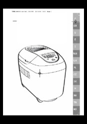 Moulinex home bread manual pdf