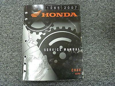 1986 honda elite 250 service manual