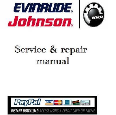 Evinrude etec 60 hp owners manual