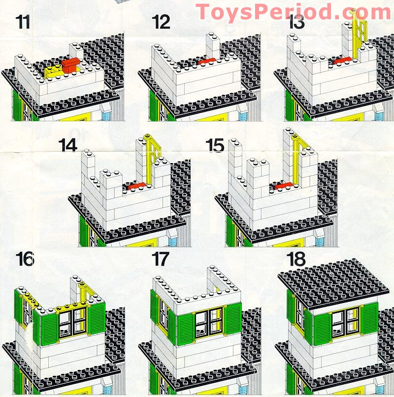 old lego police station instructions
